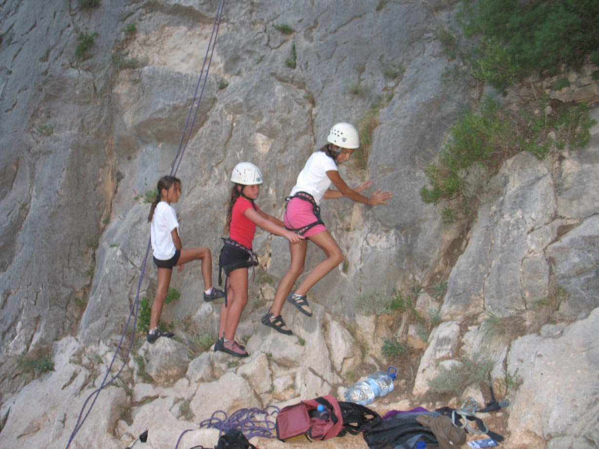 Climbing-in-Sella